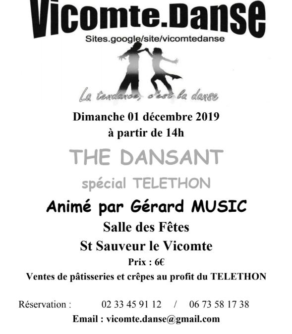 Après-midi dansant à Saint-Sauveur-le-Vicomte
