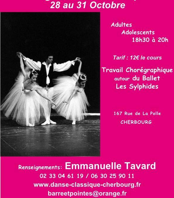 Stage de danse classique à Cherbourg