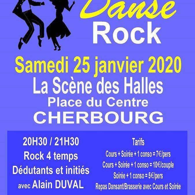 Soirée rock à Cherbourg
