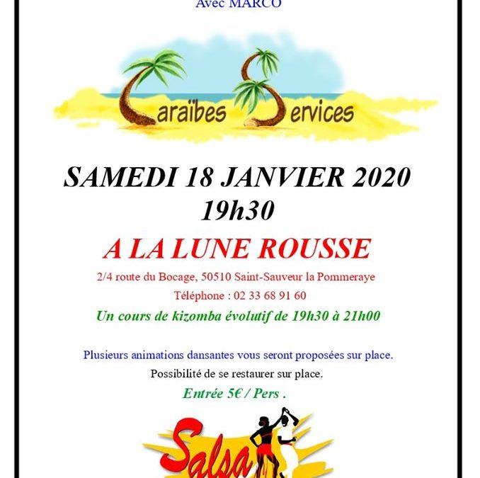 Soirée dansante à Saint-Sauveur-la-Pommeraye