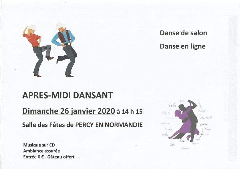 Après-midi dansant à Percy en Normandie