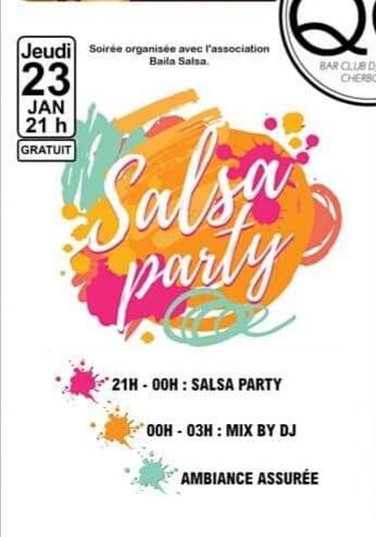 Salsa party à Cherbourg