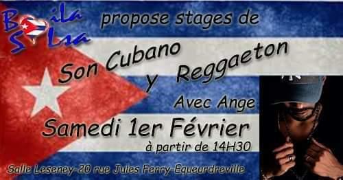 Stages son cubano y reggaeton à Cherbourg