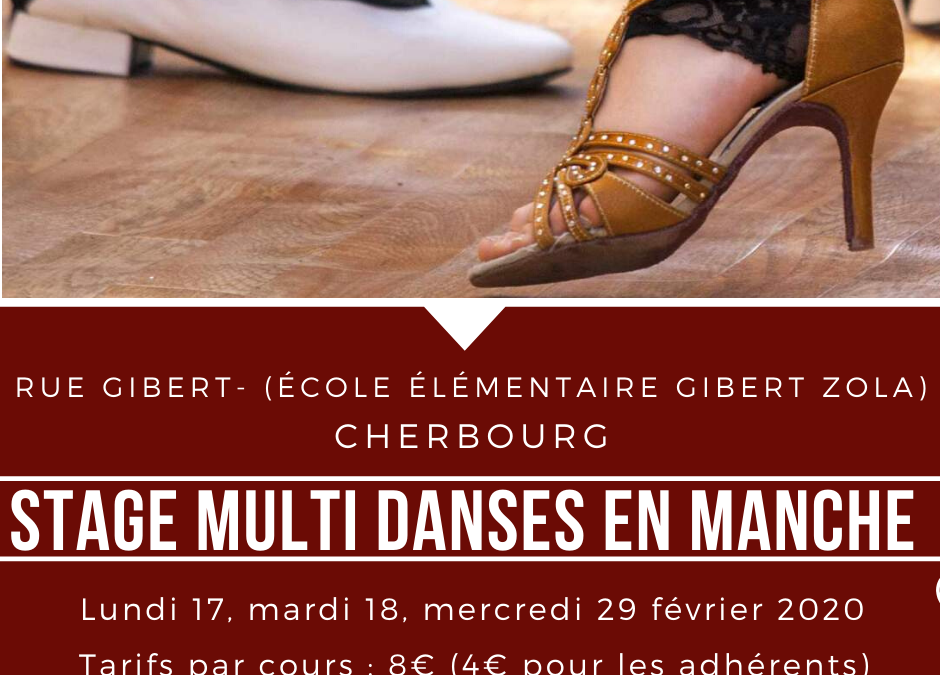 Stage multi danses à Cherbourg