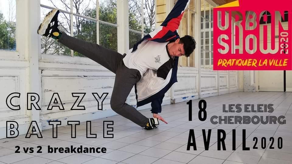 Battle breakdance à Cherbourg – ANNULÉ