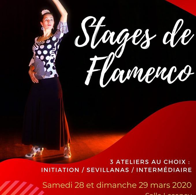 Stages de flamenco à Cherbourg – ANNULÉ