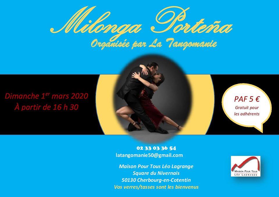Milonga à Cherbourg-Octeville