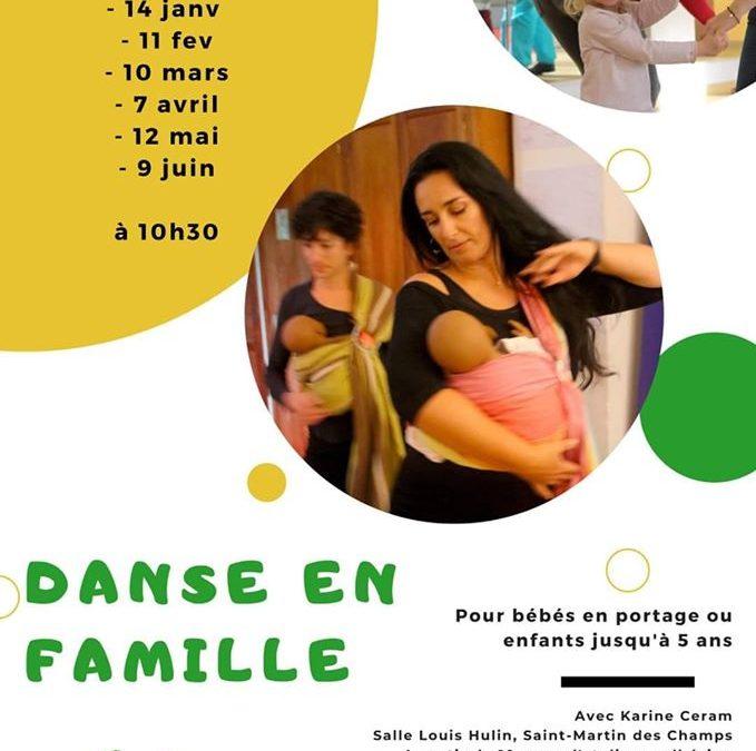 ANNULÉ – Danse en famille à Saint-Martin-des-Champs