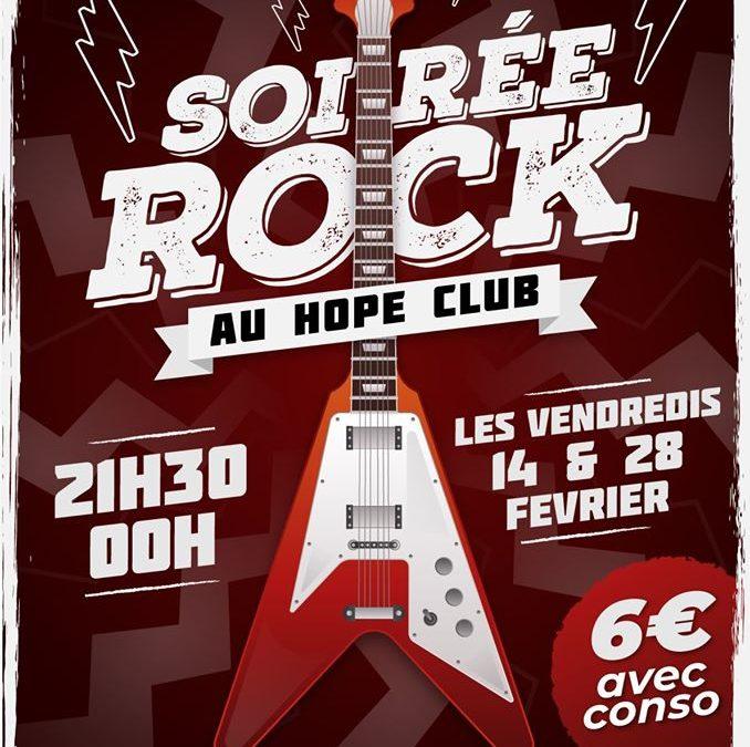 Début de soirée rock à Cherbourg