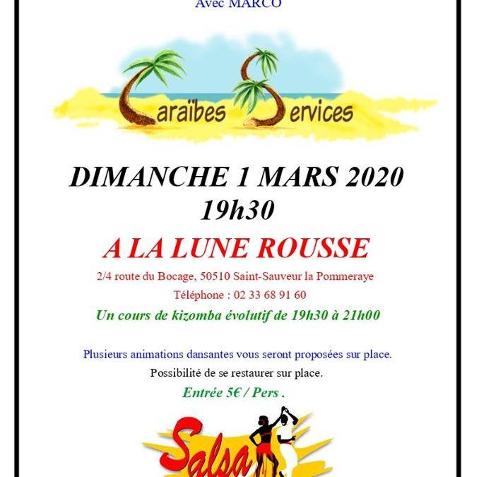 Soirée dansante tous styles à Saint-Sauveur-la-Pommeraye